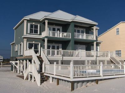 6BR house directly on beach with POOL-great place to social distance.