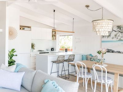 Photo for Charming Beach Abode - Ocean views - Beautifully styled