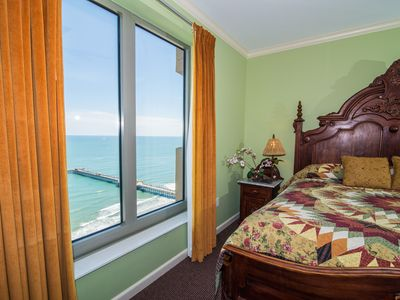 Corner Oceanfront Retreat at Margate Tower. NOW with Flexible Payments and Cancellation Options.