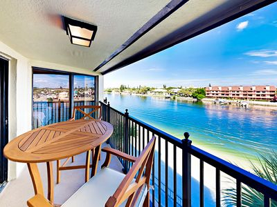 Photo for Gated 2BR w/ Pool, Hot Tubs & Beach Access - Gulf & Intracoastal Views!