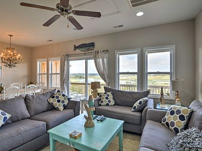 Photo for Sound Front Surf City Townhome - Walk to Beach!
