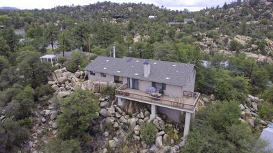 Stunning mountain views, secluded yet just minutes from Famed Whiskey Row