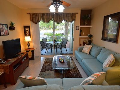 Photo for 14-105 Convenient, quiet location to escape the chaos at Disney World, POOL, GYM