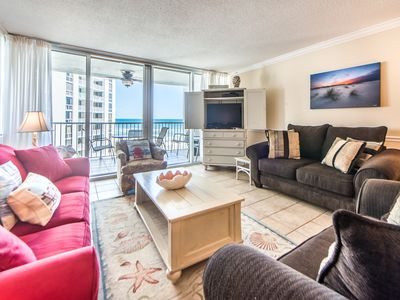 Photo for Telecommute w/Gulf Views☀Pool☀2 Step Sanitizing Process☀2BR Shoreline Towers 2052