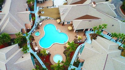Photo for 3 Room Disney Villa w/ Pool, SPA , Golf +Game Room, Jacuzzi & Gym near Town Center