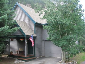 Mountain Home VRBO Stayed Here! Hot Tub East Vail 3rd Bus Stop to Town