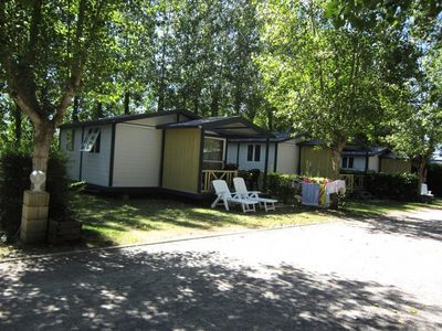 Photo for Camping Le Jardin du Marais **** - Chalet Seagull 3 Rooms 4 Adults and 1 Child