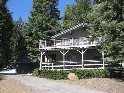 Photo for Spacious Lake Almanor Country Club Home  W/Detached Cottage