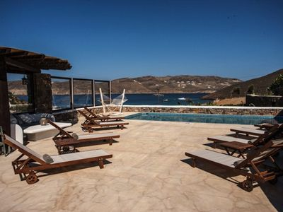 Photo for DELUX POOL VILLA, Mykonos