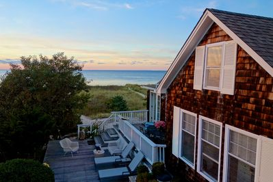 private, serene lot overlooking Long Island Sound