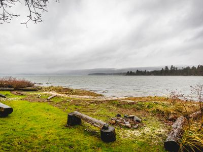 Photo for Oceanfront House in Fanny Bay!