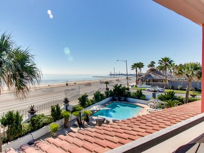 Photo for Dog-friendly, waterfront house w/ shared pool, beach access & gulf views!