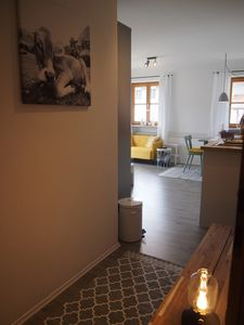Photo for Friendly apartment with sunny terrace for 2 in Siegsdorf-Hammer