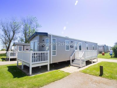 Photo for Luxury 6 berth caravan for hire at Hopton Haven in Norfolk ref 80009L