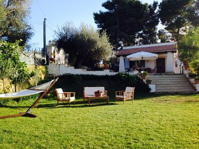 Photo for The VILLA on NOTO BAROQUE, with pool and 2000 square meters of garden, 5 minutes from the natural vendicari.