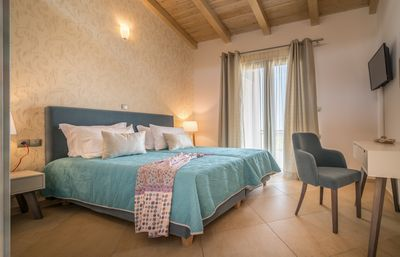 Photo for Merovigli 4 Bedroom Villa with Private Pool and Sea Views