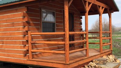 Photo for New - Log Cabin At Big Muddy Brewing - Cabin #1