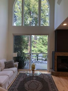 Photo for Luxurious 2100 sq ft Aptos Townhome with forest views