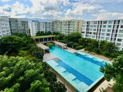Photo for Next to Central Festival Mall. Big Pool and lots of Gardens. Kitchen and Air Con