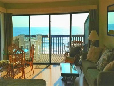 Photo for Come SEA Our Difference... View from this Oceanfront Corner Condo with Elevator, Pool and Beach Access!!!