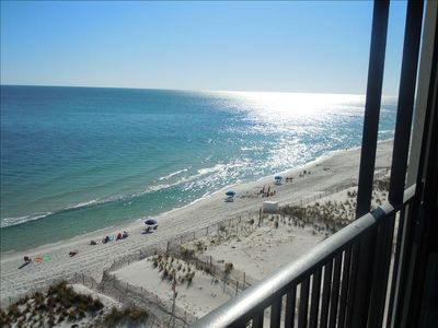 Direct View from our Balcony Sunroom looking West.   Watch the dolphins swim!