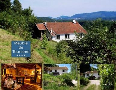 Photo for AuxBaumes-Holiday house.,Vosgian Farmhouse totally renovated