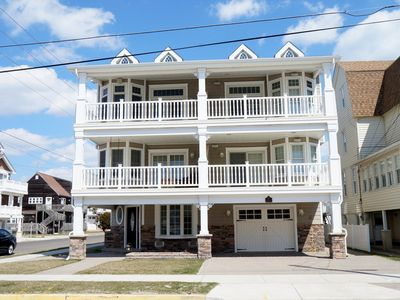 Photo for AWESOME Beach Block Townhouse, 3rd house from the beach. This fabulous beach block property is only a few steps to the beach and offers every amenity you could ever want