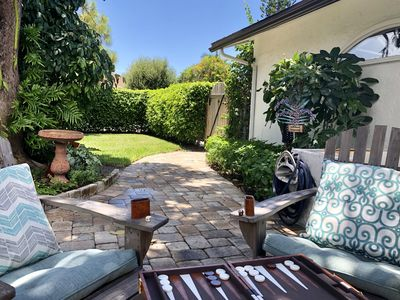 Photo for Shangri-La Newly Listed Garden  Pool Beach Cottage close to Everything!