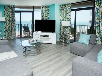 Beach Colony Resort 910, Lovely 2 BR Ocean View Condo with Indoor Outdoor Pool, Hot Tub, Lazy River and Kiddie Pool