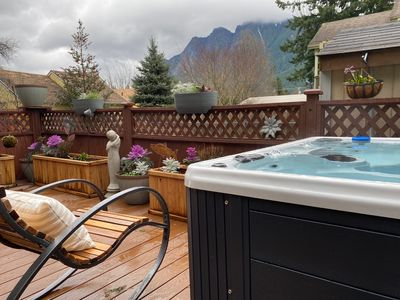 Photo for North Bend Escapes Downtown Cottage and Suite - 2 Hot Tubs, Steps to Downtown
