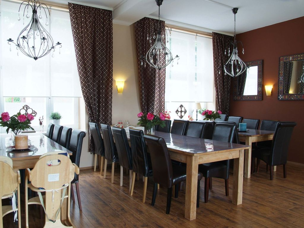 Samen in Vogtland: A group accomodation (21 persons) with bar and ...