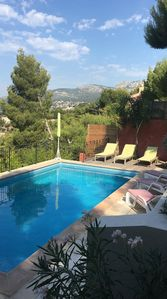 Photo for Spacious villa 8 people with swimming pool. very nice view, completely renovated.