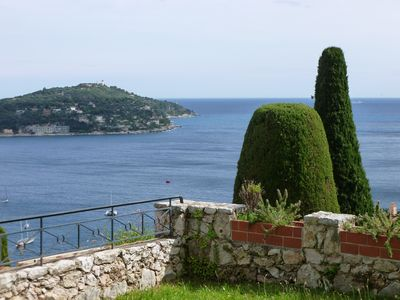 Photo for Spacious 2 Bedroom B&B with a Spectacular View over Villefranche Bay