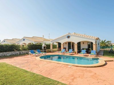 Photo for One level Villa w/pool, 15 minutes walk from the marina & beach