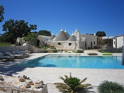 Photo for Trulli Villa with 18x7 m private pool