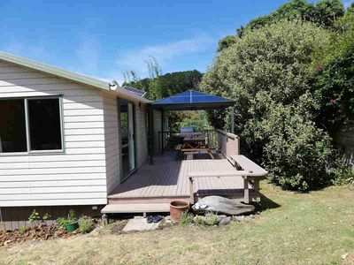 Photo for 3 bedroom house on flat section easy walk to Medlands Beach