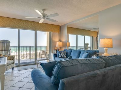 Photo for 204 Gulf Dunes-   Spectacular View of Beach- Free Beach Service- Super Nice!
