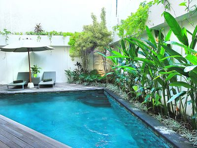 Photo for Located in the most desirable area of Seminyak, Bali Beach Pad is a stylish two