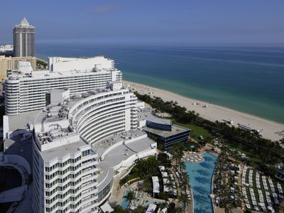 Photo for Fontainebleau Hotel 30th fl Corner 1 Bedroom Suite