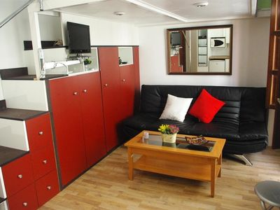 Photo for Studio apartment in the center of Granada with Internet, Air conditioning, Parking, Washing machine (403435)