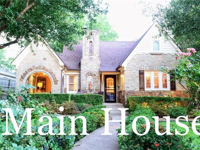 Photo for The Monticello Guest House - Charming M Streets - Dallas