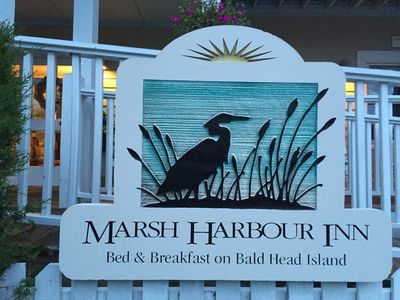 Photo for Bed & Breakfast on Bald Head Island Marsh Harbour Inn - Shipwatch Suite