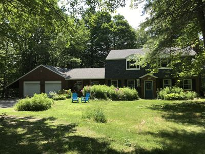 Photo for The Brick House in the Woods...A Four-Season Retreat! Room for a large family!