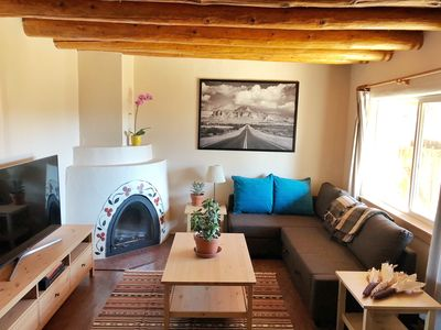 Photo for Heart of Santa Fe Casita with organic amenities!