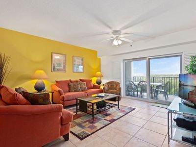Photo for Stunning 3 Bedroom 2 Bath Condo with gorgeous views of the estuary OW7-404