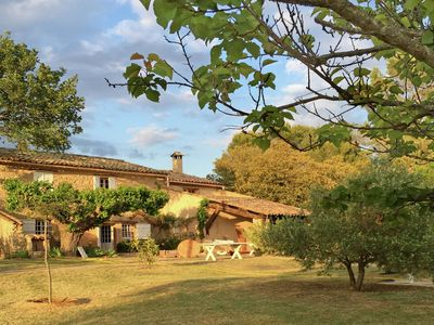 Photo for Authentic Mas en pierre at a private domain of 7000m2 with private pool