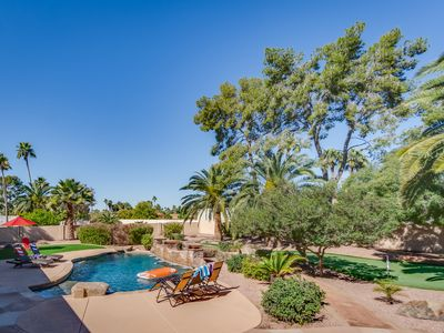 Photo for Winner of: ''Best in Tour'' Resort Style Yard w/it all,Golf,Pool,Poker,Hot tub