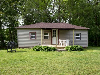 Photo for Country Cottage - Lakefront Cottages on Semi-private Lake, Beach, Boats, Fun!