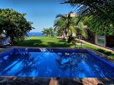Photo for Villa Oasis With Private Heated Pool, Sea, Mountain and Coastline Views