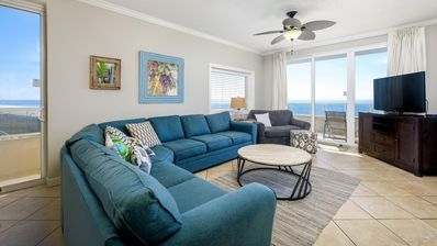 Photo for Updated Beachfront 3/3 Corner Unit - Indoor/Outdoor Pool - Free WiFi